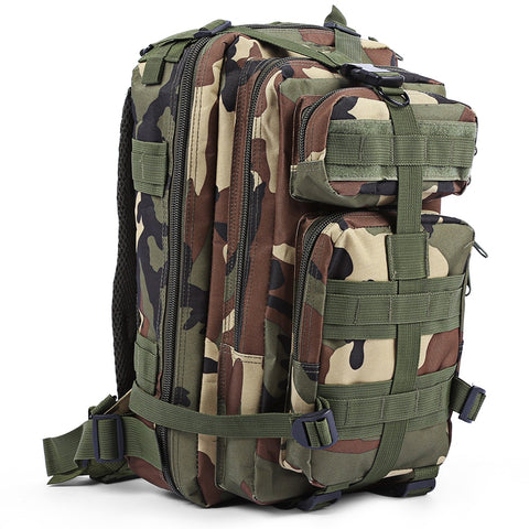 30L 3P Backpack Military Tactical Outdoor Sport Camping Hiking Trekking Bag