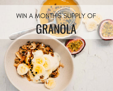 WIN a month supply of Beatha Granola