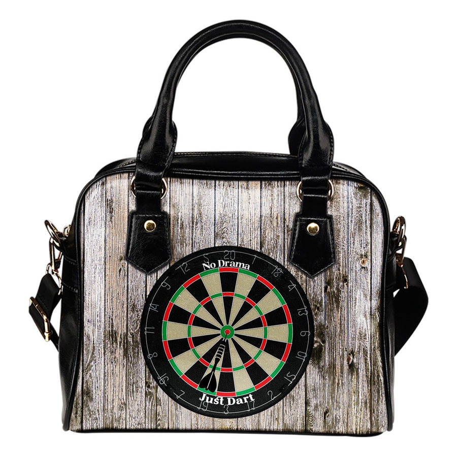No Drama, Just Dart Rustic Shoulder Handbag