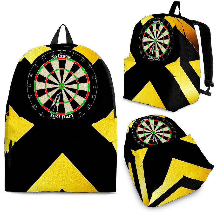 No Drama, Just Dart Backpack - Yellow