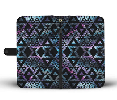 Quilt Crystal Triangle Wallet Case