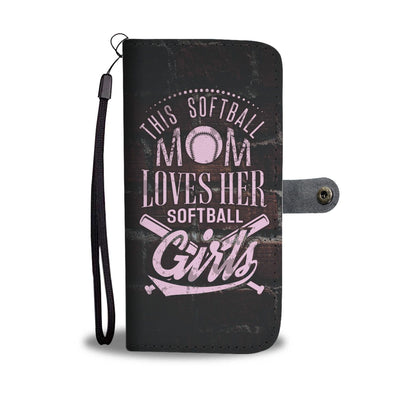 Softball Mom Wallet Case