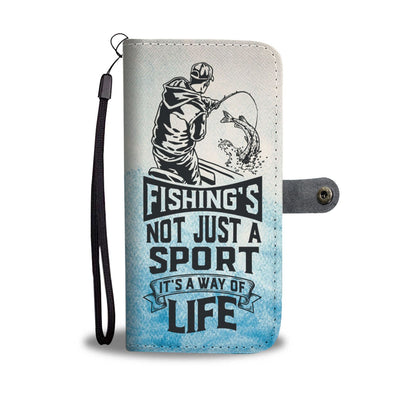 Fishing's A Way of Life Wallet Case