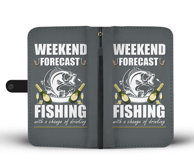 Fishing with a Change of Drinking Wallet Case