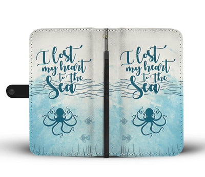 I Lost My heart To The Sea Wallet Case
