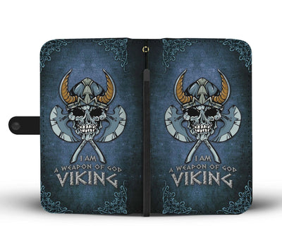 I Am a Weapon of God Viking Wallet Case