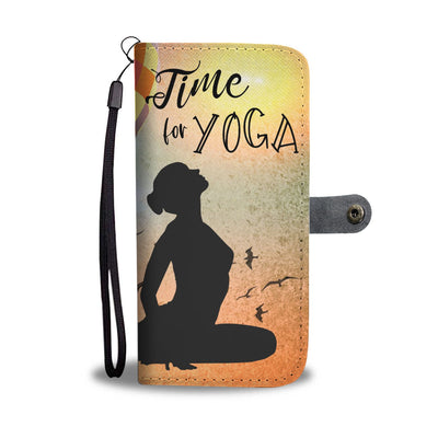 Time for Yoga Wallet Case