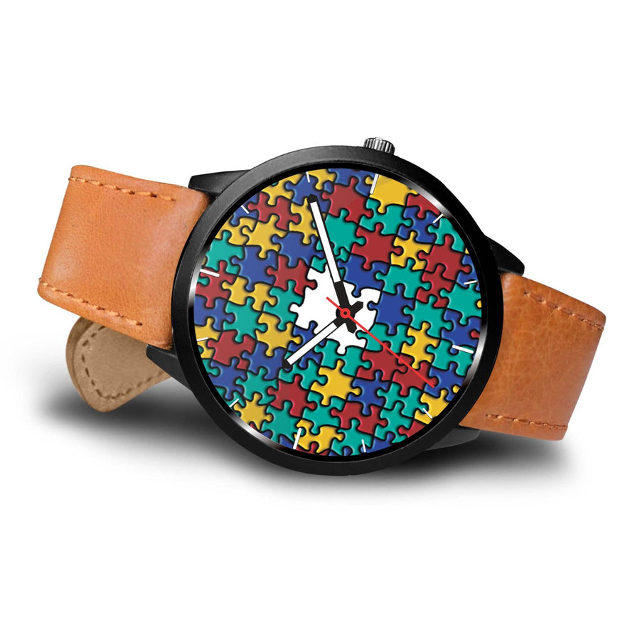 Autism Colorful Puzzle Watch