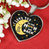 Autism-Inspired I Love You to the Moon and Back - Heart Luxury Adjustable Necklace or Bangle