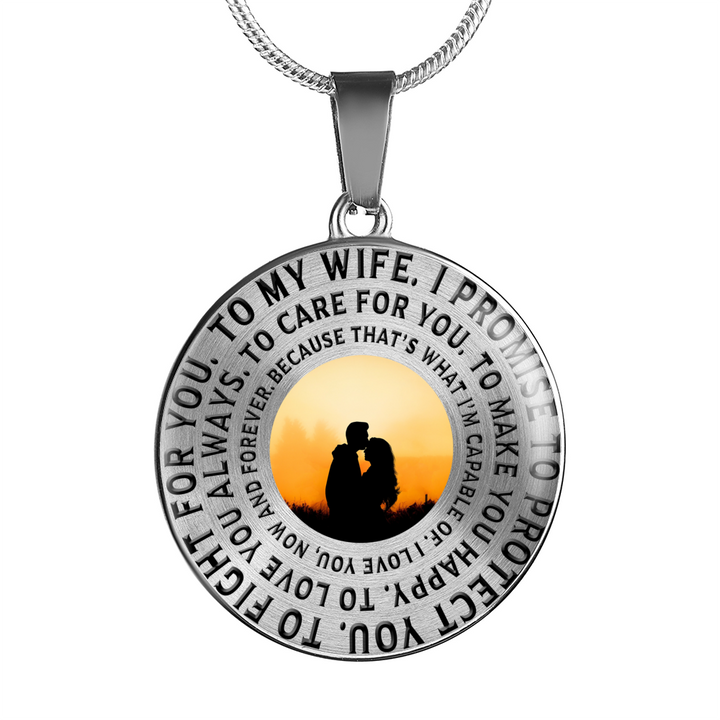 To My Wife Luxury Necklace or Bangle