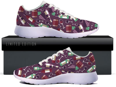 All About Wine WOMENS SNEAKERS - Purple