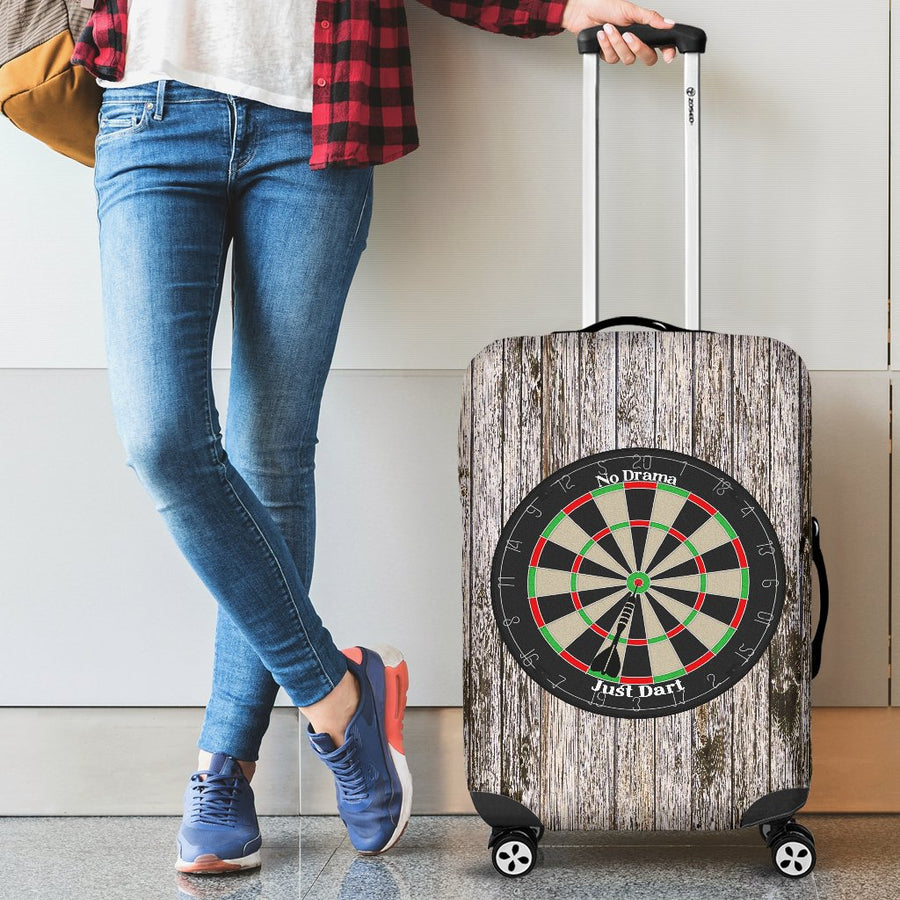 No Drama, Just Dart Rustic Luggage Covers