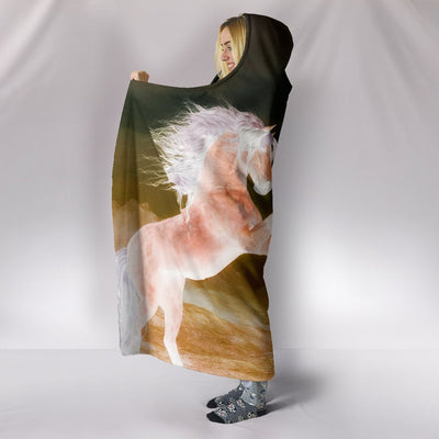 Awesome Horse Hooded Blanket