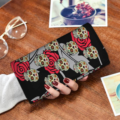 Calavera Wallet Phone Case