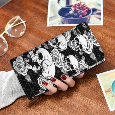 Classic Black Wallet Phone Case