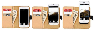 Woodworking At It's Best RFID-Blocking Phone Wallet Case