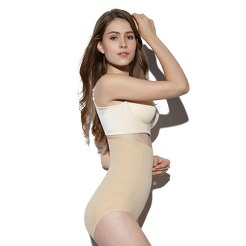 High Waisted Tummy Tuck Slim Shaping Panty - Global Dibs