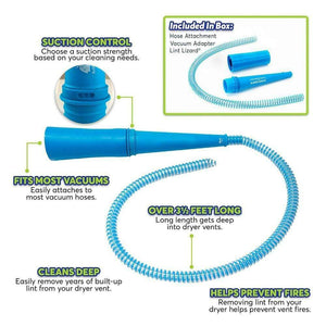Dryer Vent Lint Vacuum Hose - Global Dibs