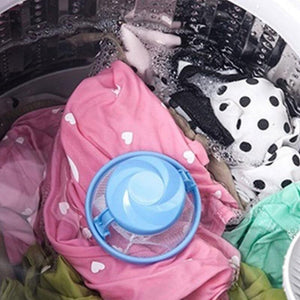 Reusable Hair Catcher & Anti Tangle Filter Bag For Laundry Machines - Global Dibs