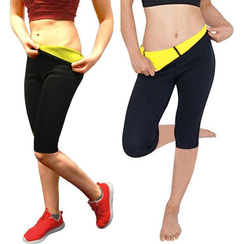 Thermo Sauna Slimming Waist Trainer Pants - Global Dibs