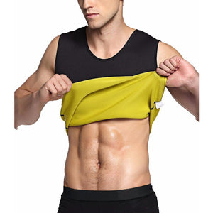Men's Thermo Sauna Slimming Abdomen Trainer Vest - Global Dibs