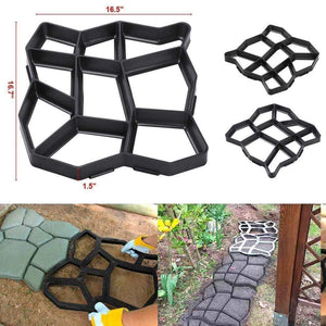PathMate™ Paving Mould - Easy DIY Path & Patio Tool - Global Dibs