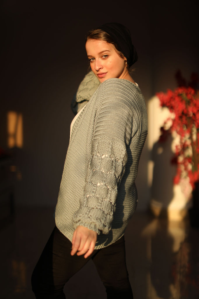 The Knitty Girl Heavyweight Cardigan Sliver