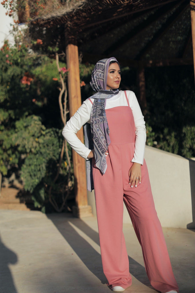 Classic Jumpsuit - Nude Pink