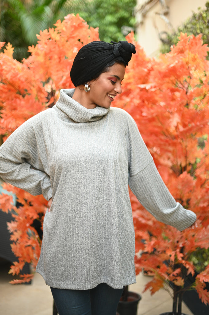 Light Grey Comfy Sweater