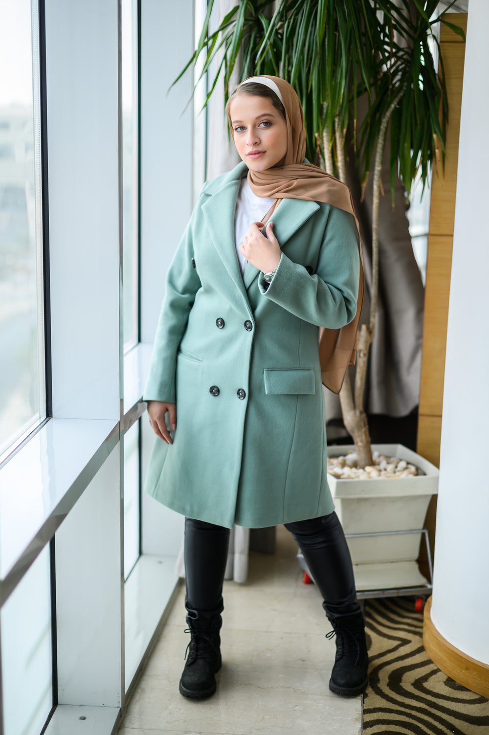 Heavyweight Coat Mint