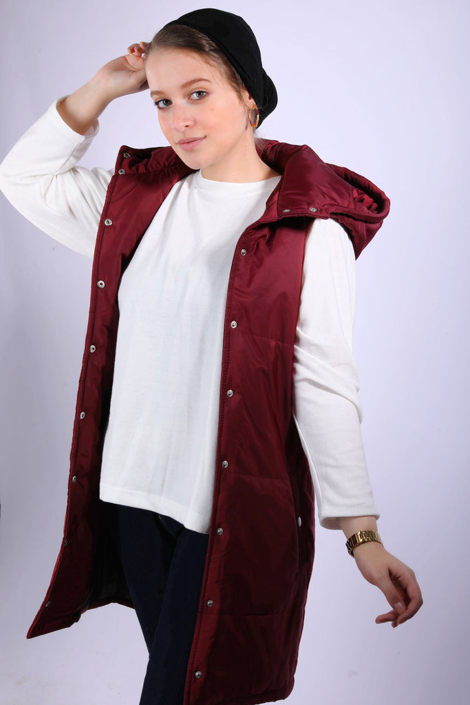 Waterproof Vest Maroon