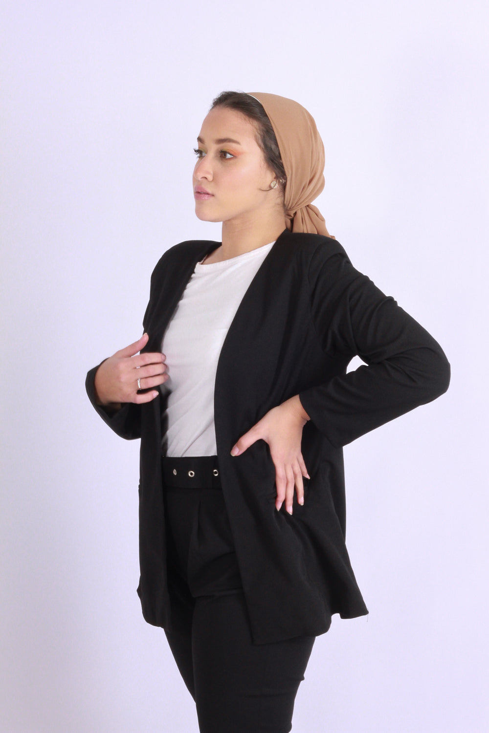 Basic Blazer Black