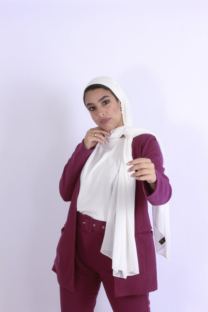 Basic Blazer Boysenberry