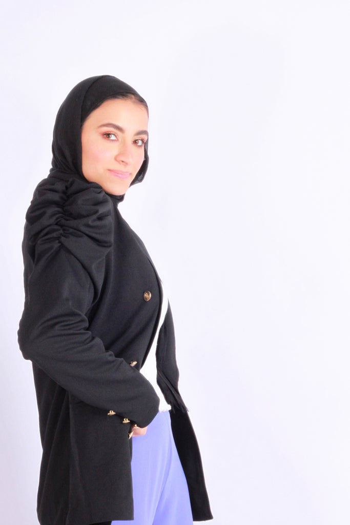 Puff Blazer Black