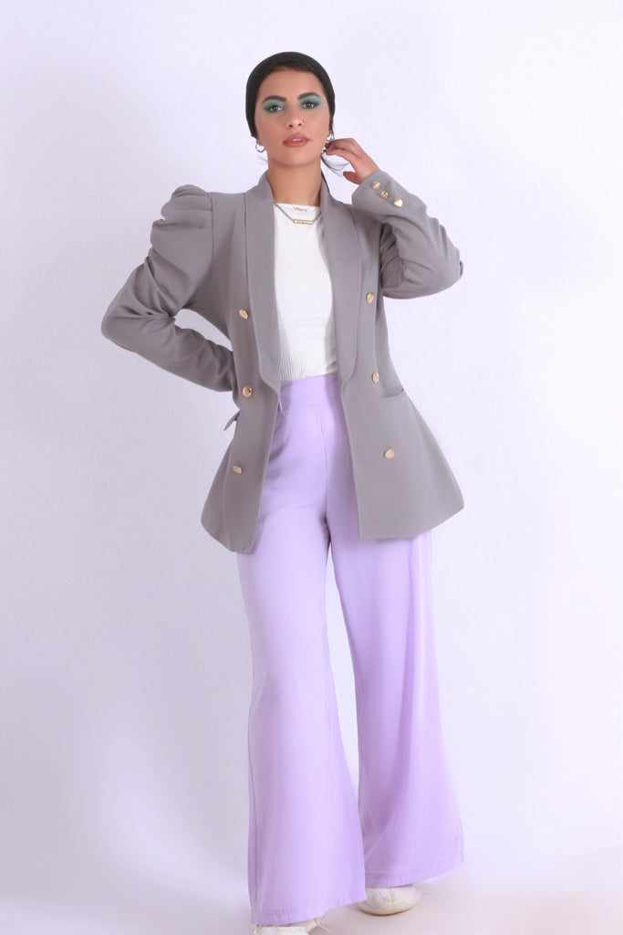 Wide Pants Lilac