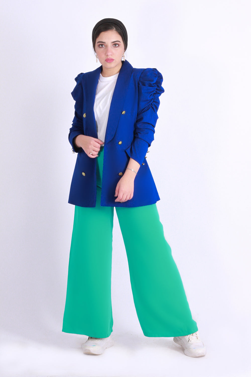 Wide Pants Persion Green