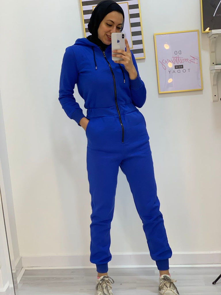 Sporty Jumpsuit Blue