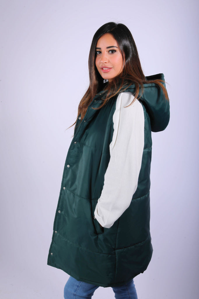 Waterproof Vest Emerlad Green