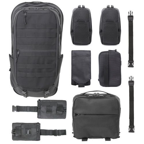 Bamian Pack 17 Travel Bundle [For Office & Heavy Travel]