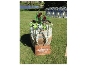 Rustic Welcome Signs