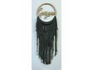 Macrame Wall Hanging with name
