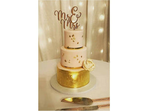 Wooden Generic Cake Toppers