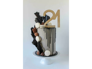 Wooden Number Cake Toppers