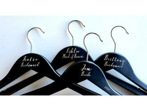 Engraved Wooden Hangers