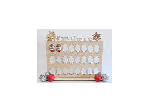 Wooden Advent Countdown