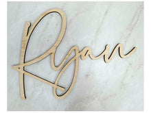 Personalised Signature Name Plaque