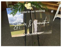 Acrylic Welcome Signs