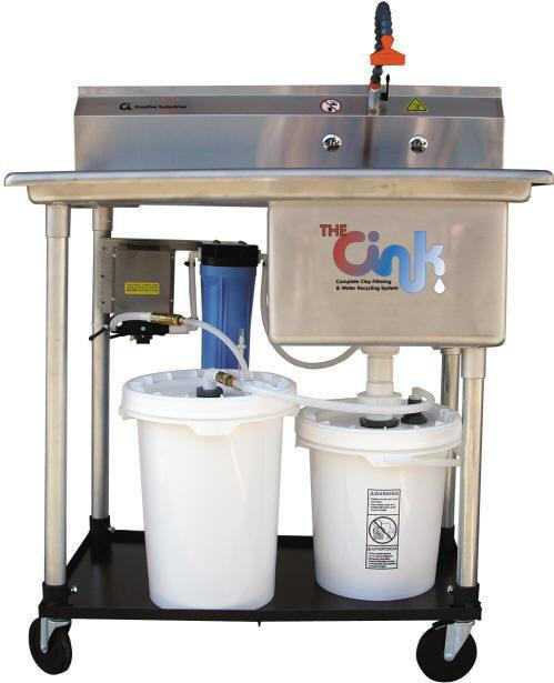 THE CINK clay and water filtration system from DiamondCore Tools