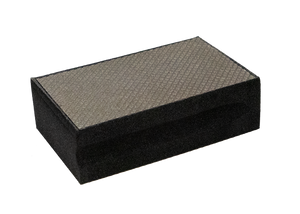 Diamond Sanding Block (Sold Separately, 7 Different Grits Starting at 60 and up to 3500)