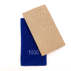 Velcro-backed Diamond Grit Removable Flexible Sanding Strips (Sold Separately)